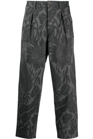PIERRE-LOUIS MASCIA Mina floral print trousers