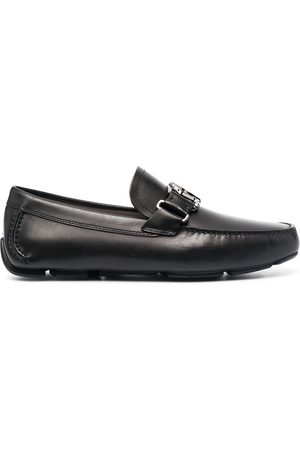 Salvatore Ferragamo Logo-plaque loafers