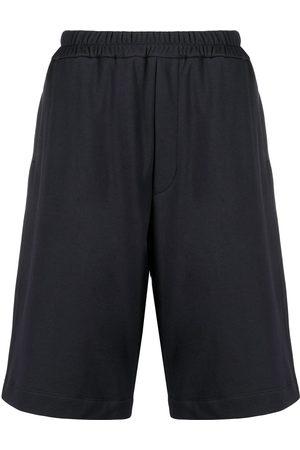 Jil Sander Plus logo-embroidered track shorts