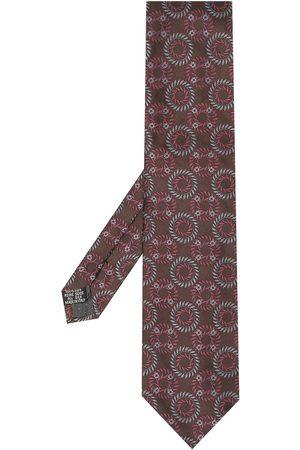 Yves Saint Laurent Muži Šály a šátky - 1990s geometric pattern silk scarf
