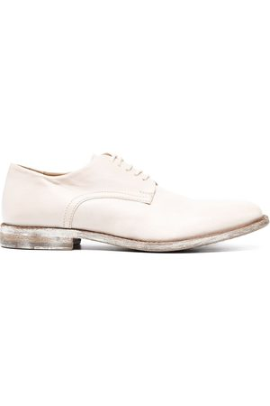 Moma Ženy Do práce - Distressed sole finish oxford shoes