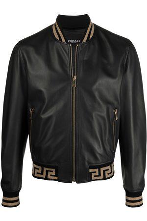 VERSACE Greca-pattern bomber jacket