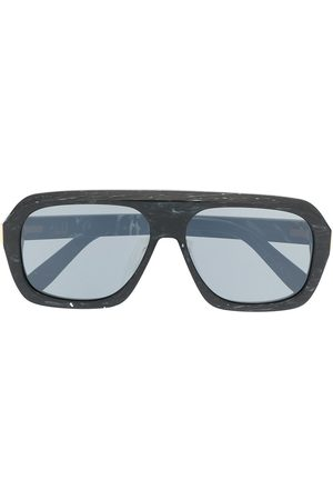 Dunhill Muži Sluneční brýle - Ferry marbled rectangular sunglasses