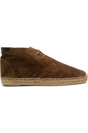 Saint Laurent Espadrille suede desert boots