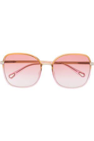 Chloé Franky oversized square-frame sunglasses