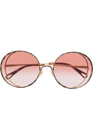 Chloé Round oversized sunglasses