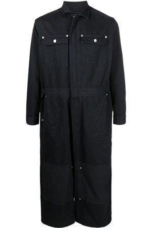 DOUBLET Cotton-silk blendbfull-length overall coat