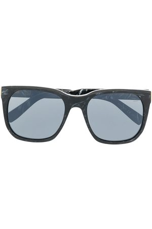 Dunhill Marbled-effect square sunglasses