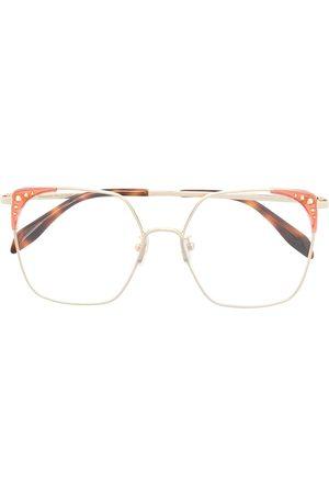 Alexander McQueen Oversized-frame glasses