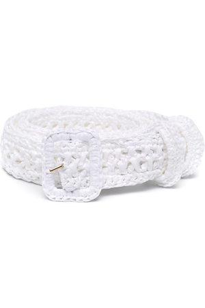 Serafini Braided fabric belt