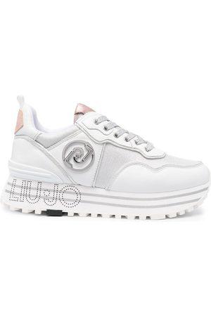 Liu Jo Panelled platform-sole sneakers