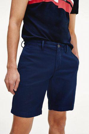 Tommy Hilfiger Muži Šortky - Pánské tmavě modré šortky Brooklyn
