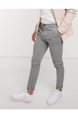 ASOS Skinny chinos in light grey