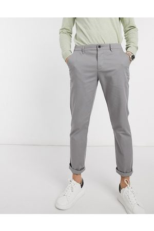 ASOS Slim chinos in light grey