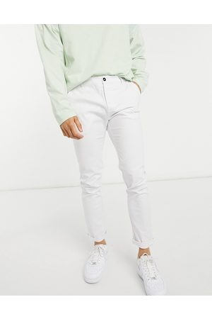 ASOS Skinny chinos in white
