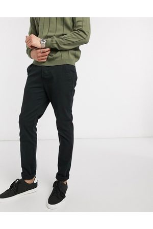 ASOS Skinny chinos in black