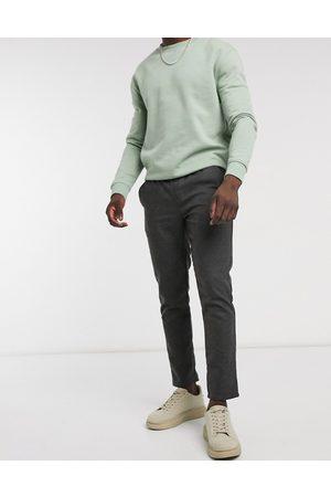 ASOS Muži Chino - Slim fit trousers in grey