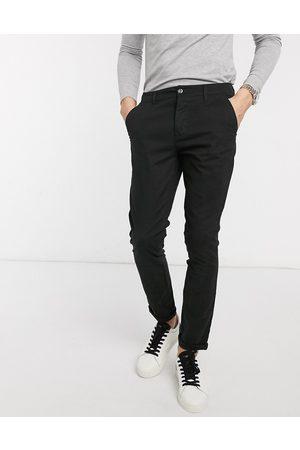ASOS Super skinny chinos in black