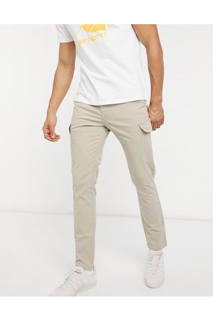ASOS Skinny cargo trousers in beige