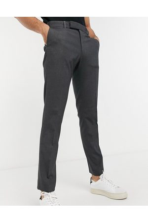 ASOS Skinny suit trouser in charcoal-Grey