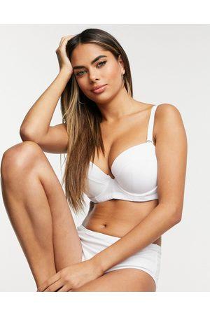 Ivory Rose Lingerie Ivory Rose fuller bust strapless multiway bra in white