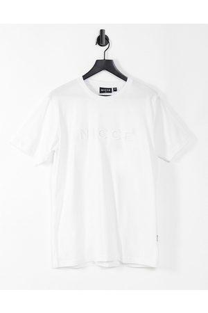 Nicce London Mercury logo t-shirt in white