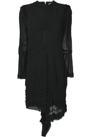 Chloé Ženy Asymetrické - Ruffled asymmetric dress