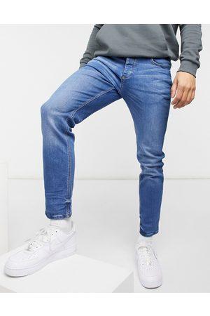 River Island Muži Slim - Slim jeans in blue