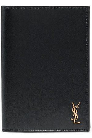 Saint Laurent Logo-plaque cardholder