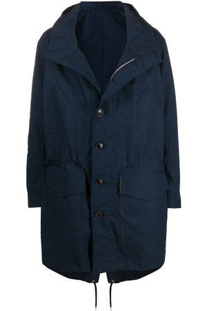 AMI Paris Hooded parka coat