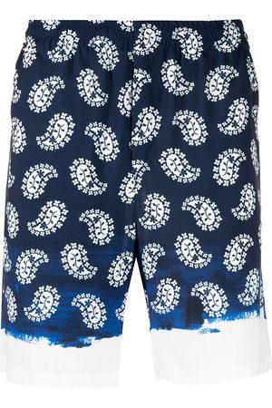 MSGM Paisley-print shorts