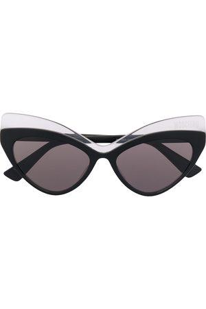 Moschino Eyewear Double-cat eye sunglasses