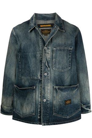 Neighborhood Distressed denim jacket
