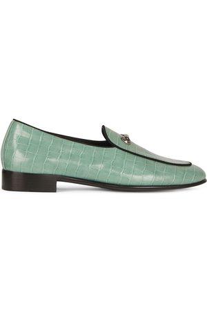Giuseppe Zanotti Archibald crocodile effect loafers