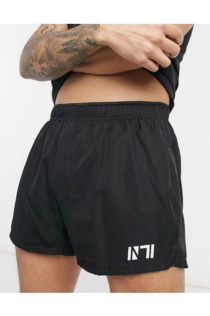 New Look Muži Kraťasy - Sport training short in black