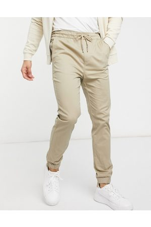 Only & Sons Muži Chino - Cuffed trouser in beige