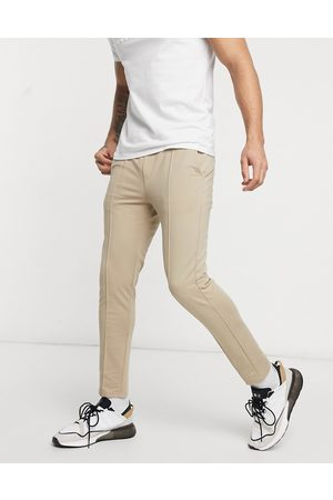 Only & Sons Muži Společenské - Co-ord trousers with elasticated waist in tan