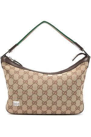Gucci Pre-Owned Shelly Line GG pattern tote bag