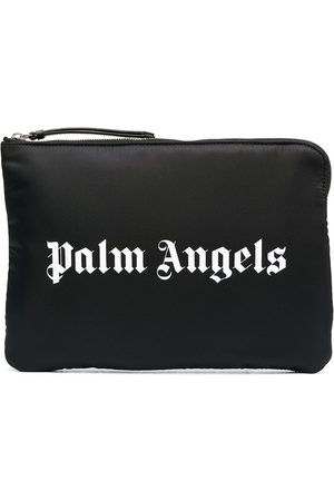 Palm Angels ESSENTIAL CARD HOLDER BLACK WHITE