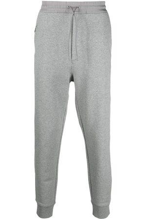 Y-3 ADIDAS Drawstring-waist cotton track trousers