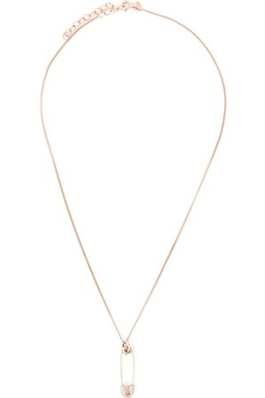 True Rocks Small safety pin necklace
