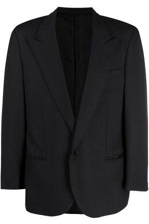 Missoni Pre-Owned 1980s tonal check pattern blazer