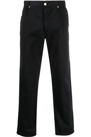 Versace Pre-Owned 1990s classic straight-leg trousers