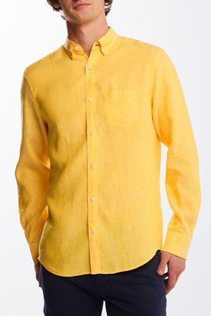 GANT Košile Reg Linen Shirt Bd