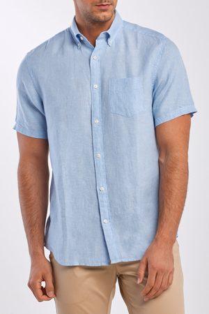 GANT Košile Reg Linen Shirt Ss Bd