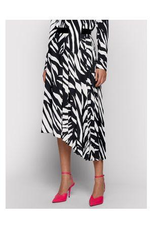 HUGO BOSS Plisovaná sukně