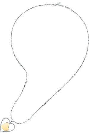 Morellato Romantický bicolor náhrdelník Srdce Dolce Vita SAUA01