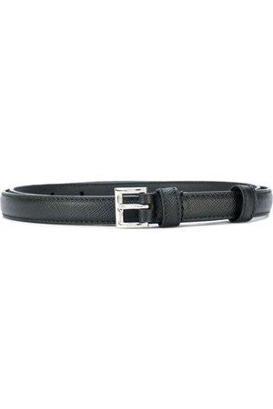 Prada Saffiano slim belt