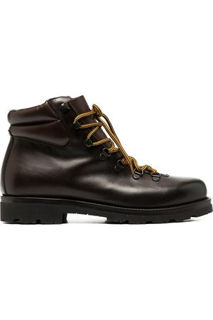 Scarosso Padded-ankle lace-up boots