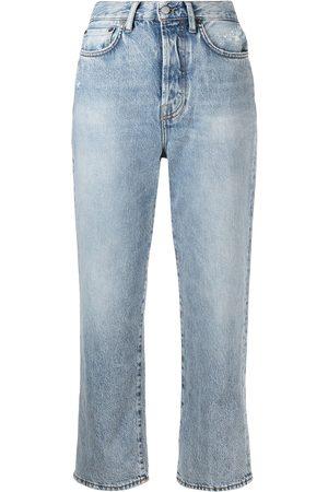 Acne Studios Mece straight-leg cropped jeans